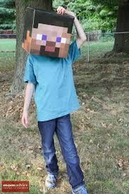 minecraft costume diy minecraft costume ideas momadvice