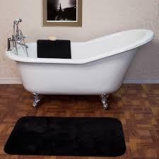 white enamel bathtub signature hardware