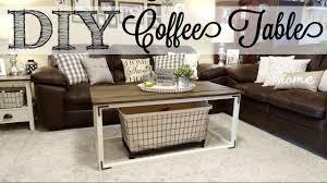 farmhouse style coffee table diy farmhouse style coffee table youtube