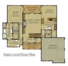 craftsman floorplans craftsman style home design