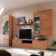 Wohnzimmerschrank Trento Kernbuche Wohnwand Home Design Und Möbel Interieur Inspiration