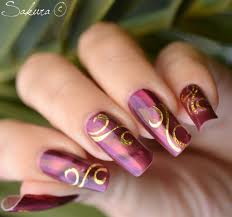 spring lines nail art designs nail designs ideas with