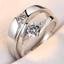 diamond couple rings images 925 silver diamond couple ring dream octane jpg
