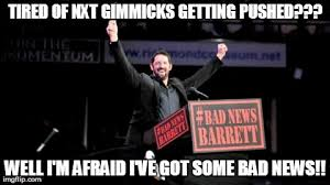 Bad News Barrett Meme - bad news barrett imgflip