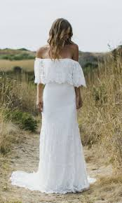 Boho Wedding Dresses Simple Bohemian Lace Wedding Gowns Katie May Boho Wedding
