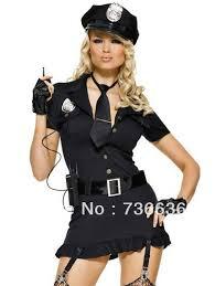 Spy Costumes Halloween Selling Policewomen Fbi Skirt Costumes Women
