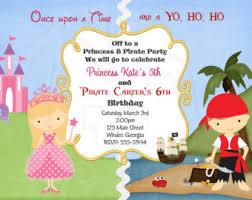 and princess birthday invitation digital file
