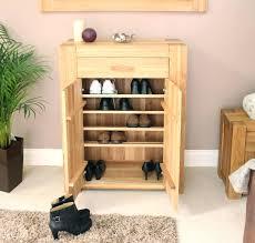 large shoe storage cupboard chadwickshoe cabinet oak effect ebay