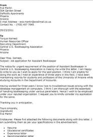 bookkeeper cover letter bookkeeper cover letter specialist cover