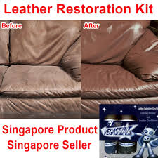 leather sofa conditioner qoo10 vegashine leather renewal kit leather cleaner and