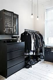 decor black furniture white rooms and bedrooms