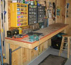 Workbench Designs For Garage 25 Best Garage Workbench Plans Ideas On Pinterest Wood Work Best