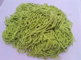 membuat mie sendiri tanpa mesin cara membuat mie hijau resep mie terbaru
