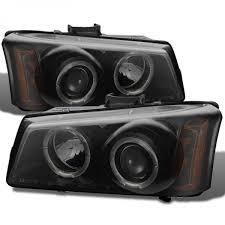 spyder 2003 2006 chevy silverado headlights