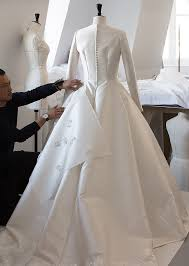 wedding dress miranda kerr exclusive an inside look at miranda kerr s haute couture