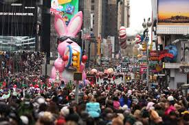thanksgiving day parade closures and parking thursday november
