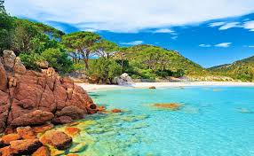corsica beaches france tidal treasures