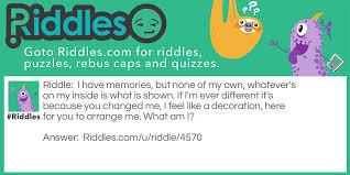What Is A Decoration Frozen Memories Riddles Com