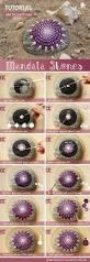 mandala stones diy colorful crafts