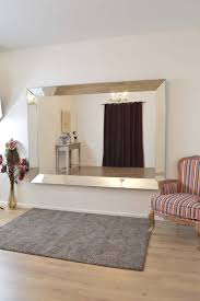 Living Room Mirror by Home Decoration Astounding Frameless Antique Mirrors With