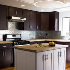 kitchen with stainless steel backsplash photos hgtv