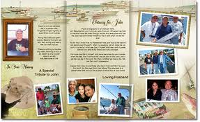 create funeral programs best photos of create your own funeral program create your own