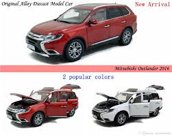 red mitsubishi outlander brand new diecast modell car for mitsubishi outlander 2016 alloy