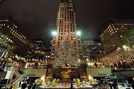 rockefeller christmas tree through the years see photos am new york