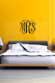 best images about monogrammed wall decals pinterest vine monogram wall decal personalized initials college dorm room teen mural christmas gift monogrammed vinyl custom