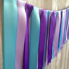 mermaid garland purple turquoise garland wedding garland