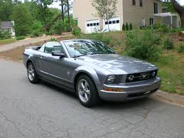 2007 Black Mustang My 2009 Ford Mustang Convertible 45th Anniversary Edition