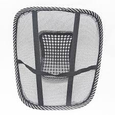 comfortable mesh chair relief lumbar back pain support car cushion