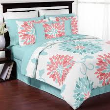 comforter decor boho stripe s tangerine piece set size bed size
