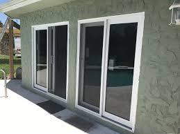 sliding glass door protection impact glass doors