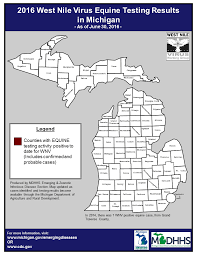Map Of Michigan State by Emerging Disease Issues Testing Tables U0026 Maps