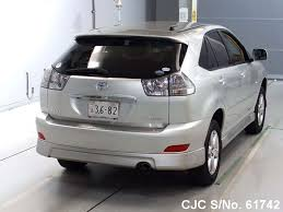 harrier lexus 2007 2004 toyota harrier silver for sale stock no 61742 japanese