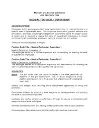 Microbiologist Resume Sample Medical Technologist Sample Resume Resume Peppapp
