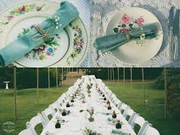 long table wedding vintage table perth wedding set up