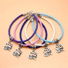 diy bracelet rope images New fashion charm bracelets jewelry 5pcs leather rope bracelet diy jpg