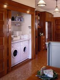 laundry in kitchen ideas 66 best washer dryer in master bath closet images on