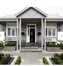 Grey House Paint by Love The Weatherboard Exterior Country Pinterest