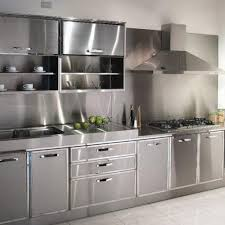 design inspiration stainless steel kitchen cabinet home interior