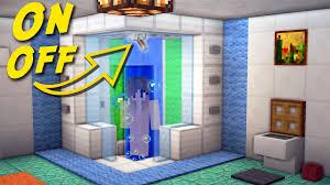 Building A Bathroom Shower Minecraft How To Make A Working Shower Bathroom For Modern