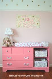 Nursery Changing Table Dresser Loving Upcycled Goodwill Dresser Repurposed Into Nursery