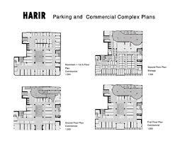 commercial complex floor plan harir complex afshin khosravian