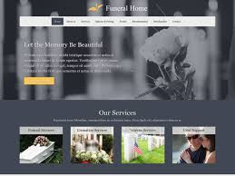 funeral home website design funeral home website templates mobile