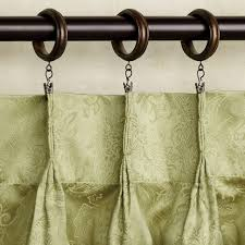 Drapery Pleat Hooks Coffee Tables How To Hang Rod Pocket Curtains With Clip Rings 2