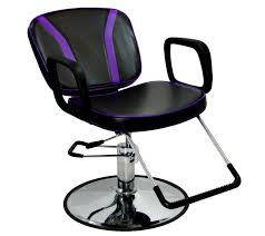 Reclining Styling Chair 2016 Purple Salon Styling Chairs Chair Furniture Hair Styling