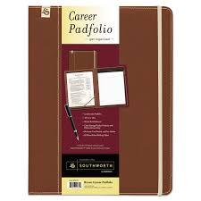Resume Padfolio Career Pad Folio By Southworth Sou99671 Ontimesupplies Com