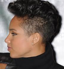 rolling hair styles mohawk fade for women short mohawk hairstyles for black women